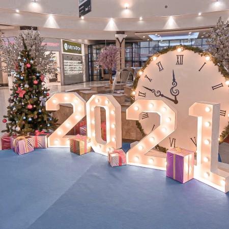 Режим работы ТРЦ в новогодние праздники